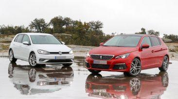 Comparativa Peugeot 308 Volkswagen Golf