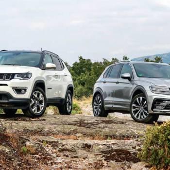 Jeep Compass vs. Volkswagen Tiguan: en peligro de extinción