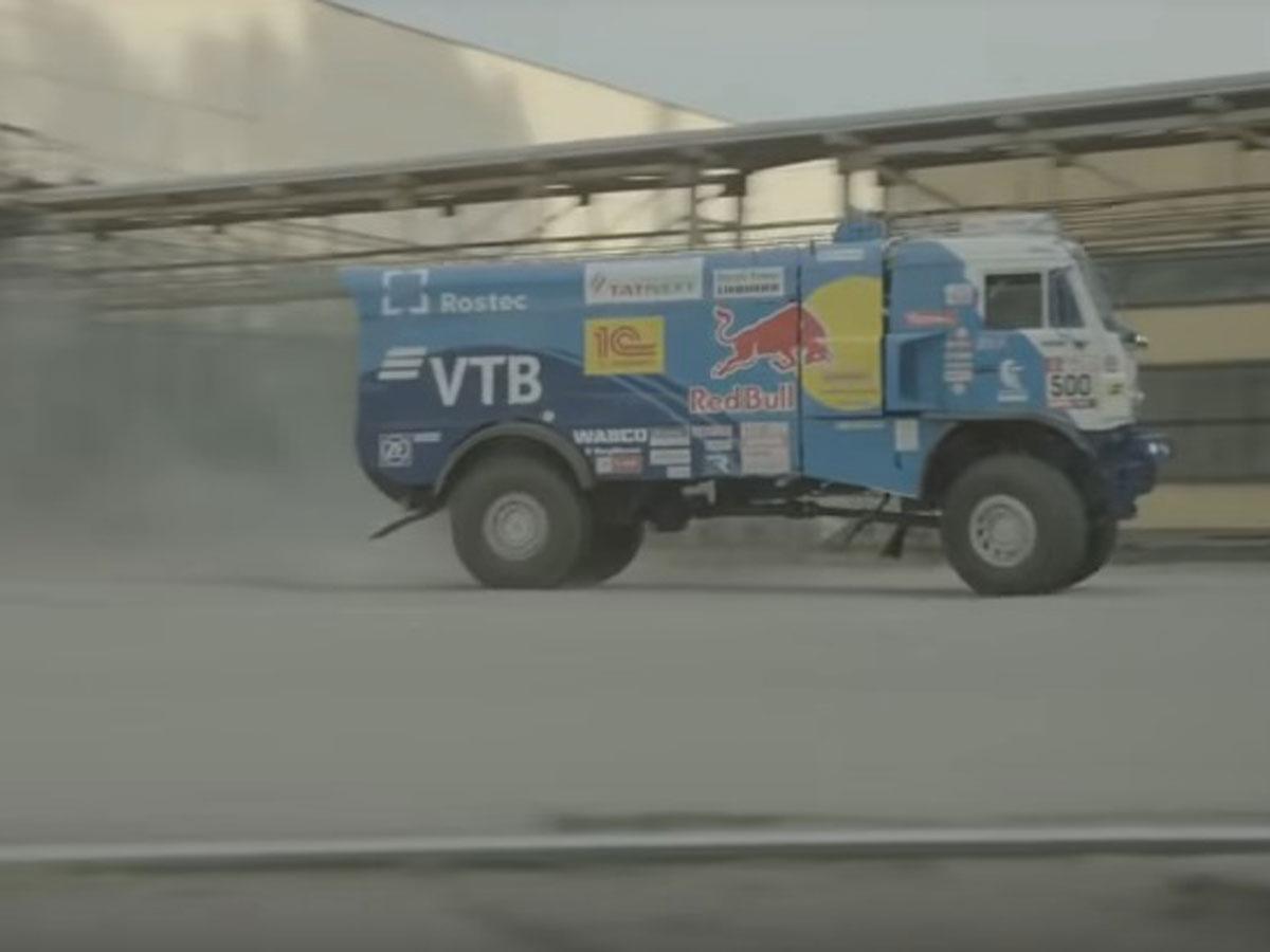drifting camión del dakar