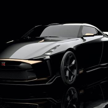 """Así es el exclusivo Nissan GT-R50, todo un """"Goldzilla"""""""