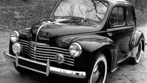 Renault 4/4: érase una vez el gran lujo francés