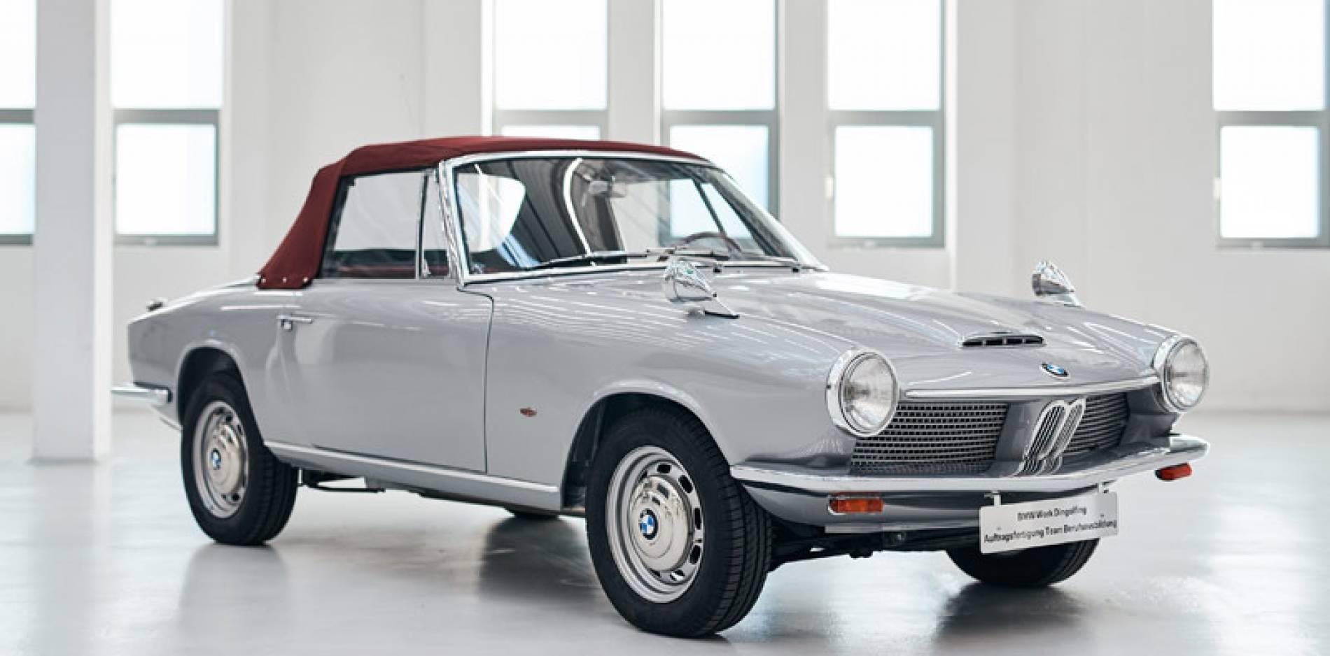 BMW restaura una rareza, un BMW 1600 GT