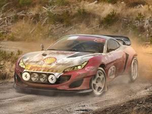 Ferrari Portofino Rally Car