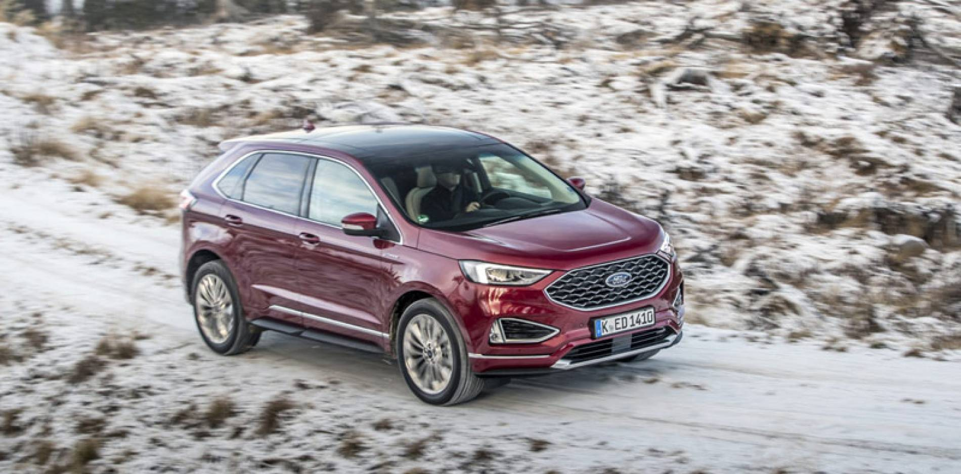 Ford Edge, estilo americano para conquistar las carreteras europeas