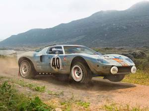 Ford GT40 Rally Car