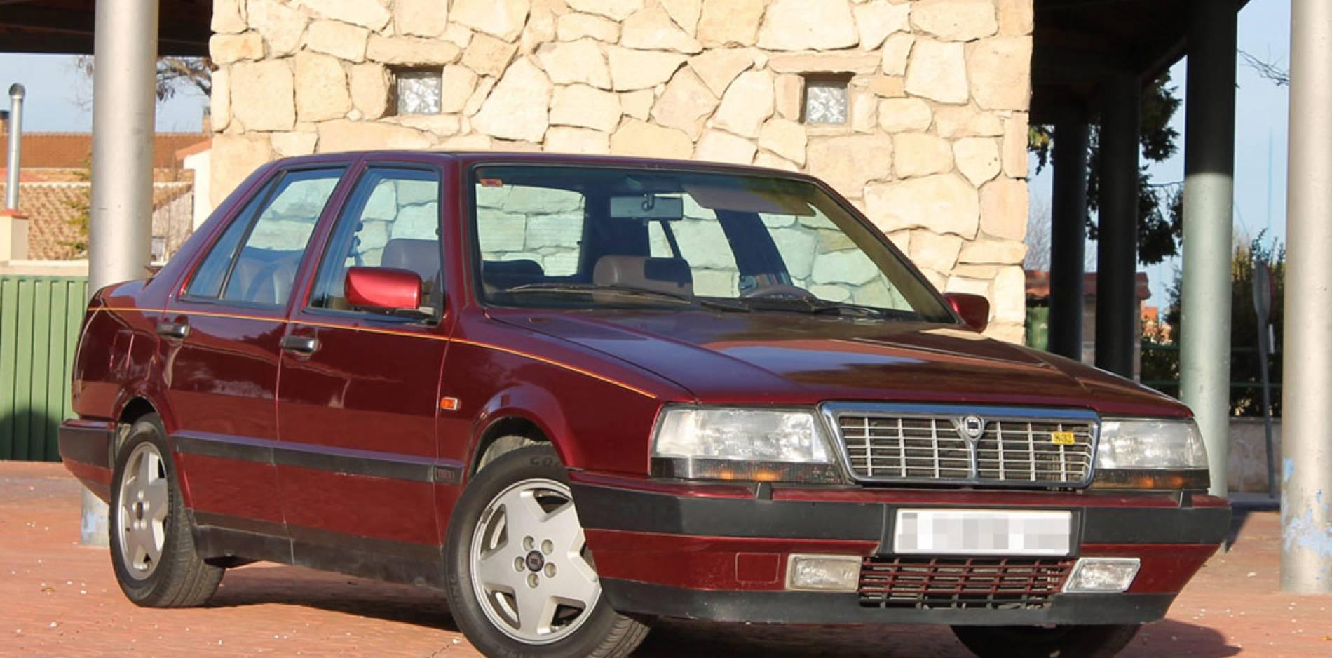 Prueba del Lancia Thema 8.32 Ferrari: la belleza está en el interior