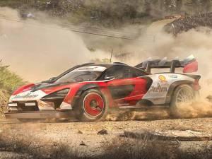 McLaren Senna Rally Car