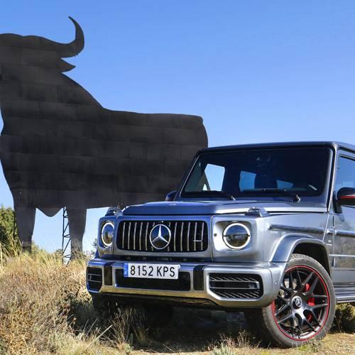 Prueba del Mercedes-AMG G 63, el día de la bestia