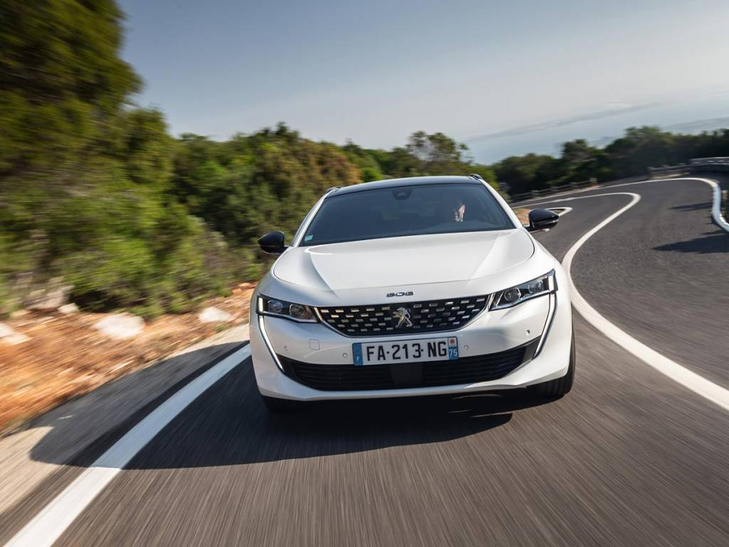 frontal Peugeot 508 SW