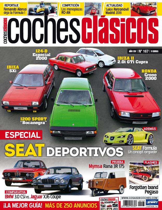 Portada coches clásicos 167