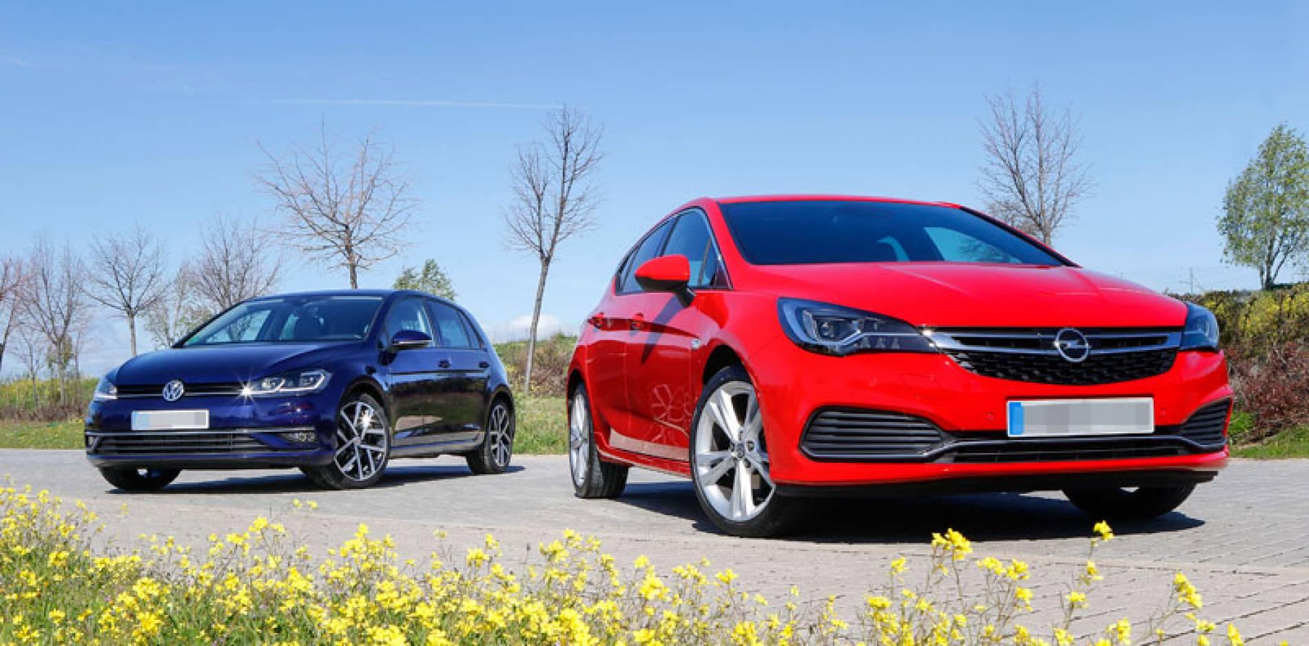 Opel Astra vs. Volkswagen Golf, ¿con cuál te quedas?