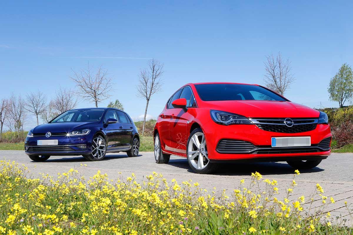 Comparativa VW Golf Opel Astra
