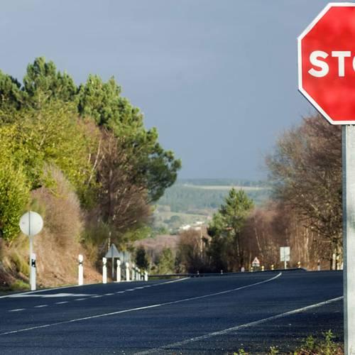 Las carreteras secundarias rebajarán su velocidad máxima a 90 km/h a partir de febrero