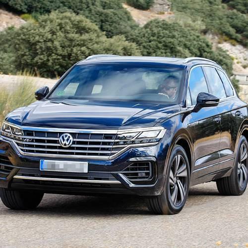 Prueba del nuevo Volkswagen Touareg: el buque insignia