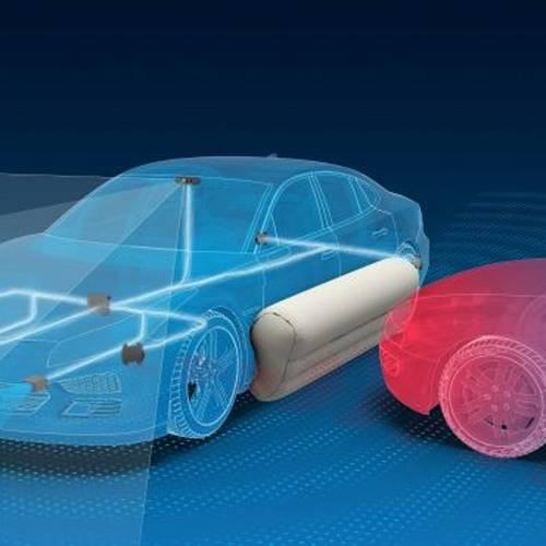 Así son los airbags externos que llevarán los coches autónomos