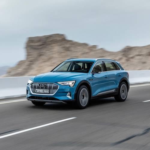 Prueba Audi e-tron: la era eléctrica