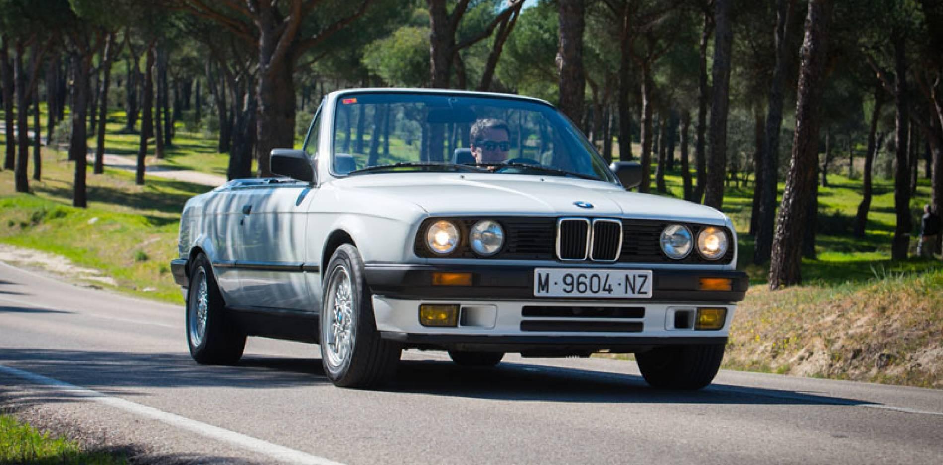 Prueba del BMW 318i E30 Cabrio: la Serie 3 se descapota