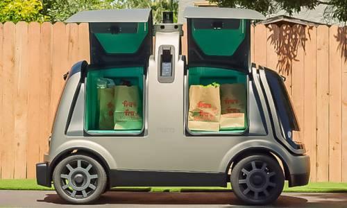 Nuro R1: así es el primer vehículo comercial de reparto autónomo
