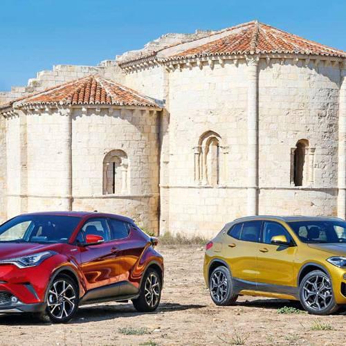 BMW X2 vs. Toyota C-HR: ahorro con picante