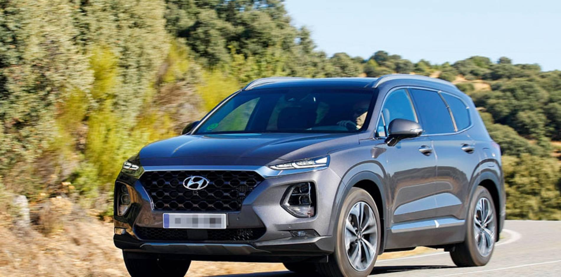 Prueba del Hyundai Santa Fe: evolución natural