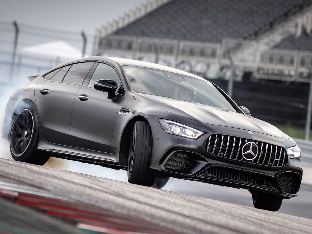 Prueba Mercedes-AMG GT 4 puertas Coupé