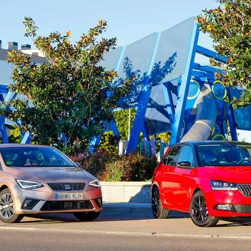SEAT Ibiza vs. Skoda Fabia: separados al crecer