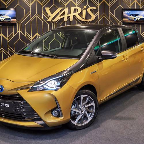 Toyota Yaris Y20: una edición limitada para celebrar su veinte aniversario