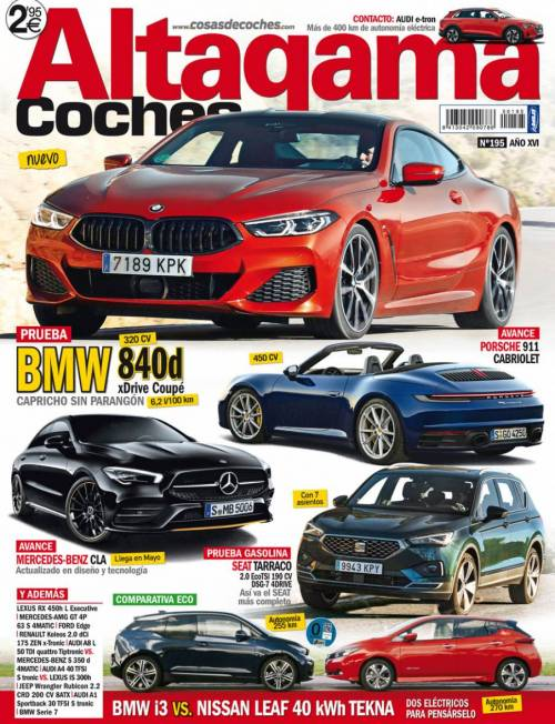 Revista Altagama Coches Número 195