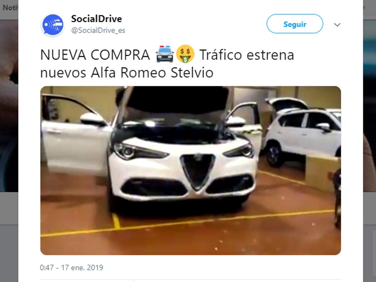 Alfa Romeo Stelvio Guardia Civil de Tráfico