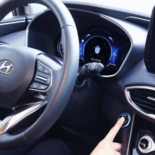 Arrancar el coche con la huella dactilar ya es posible