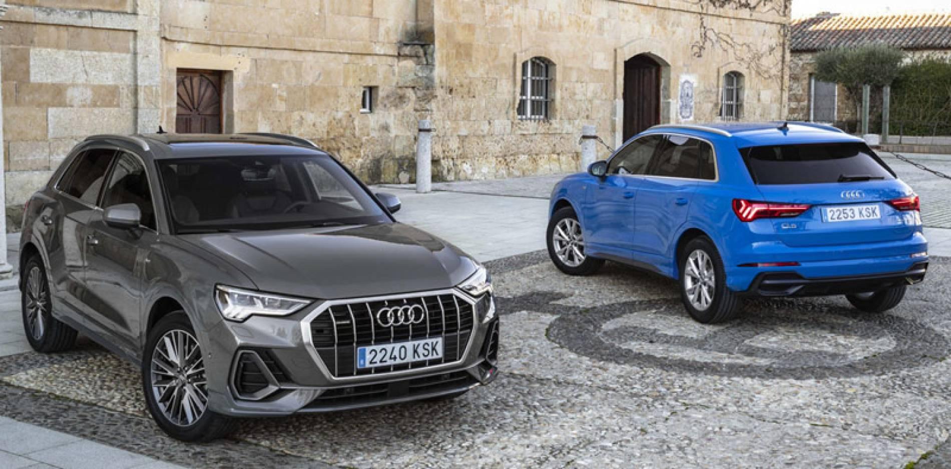 Al volante de la nueva generación del Audi Q3, la tecnología por bandera