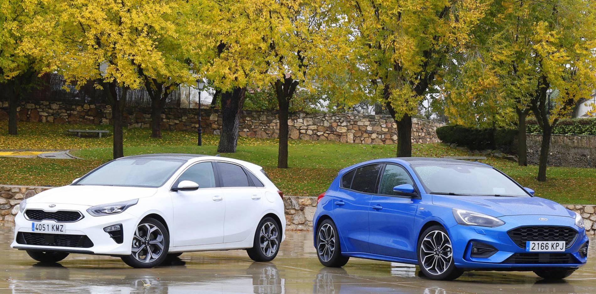 Ford Focus y Kia Ceed frente a frente, los últimos serán los primeros