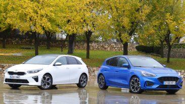 Kia Ceed vs Ford Focus