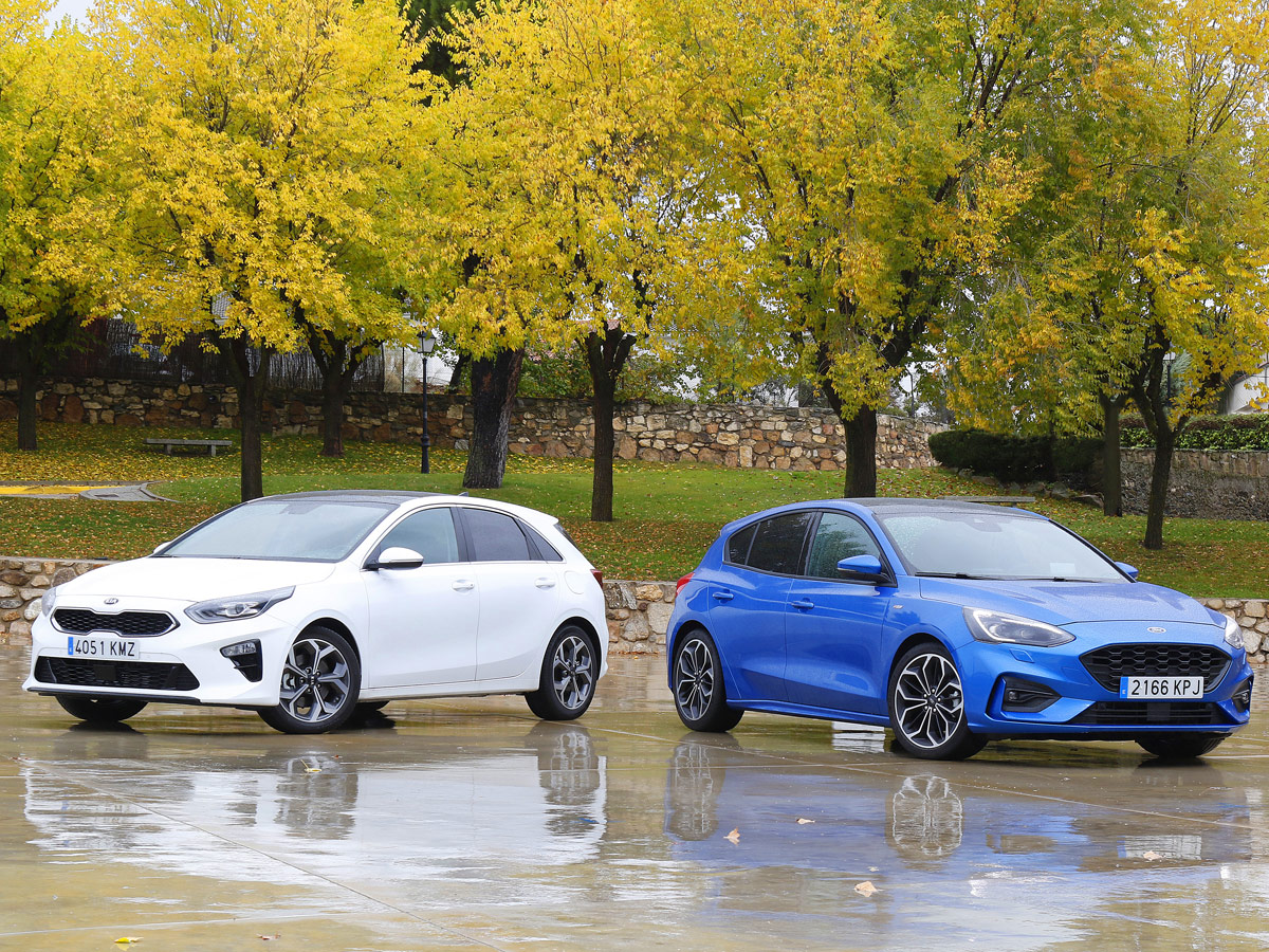 Kia Ceed vs Ford Focus