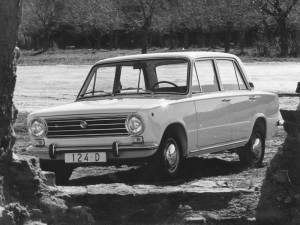 SEAT 124, el origen
