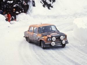 SEAT 124 Especial 1800 Grupo 4, podio en Monte-Carlo