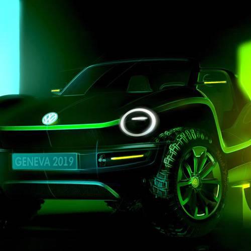 Volkswagen prepara un buggy eléctrico que presentará en Ginebra