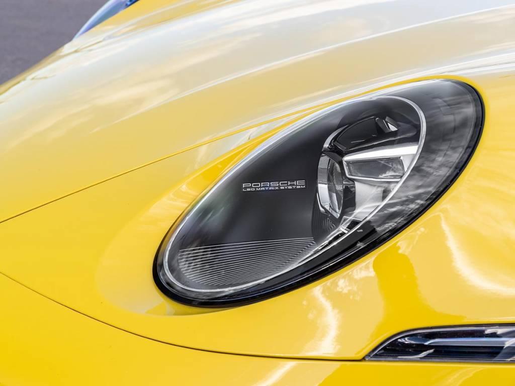 faros matrix LED Porsche