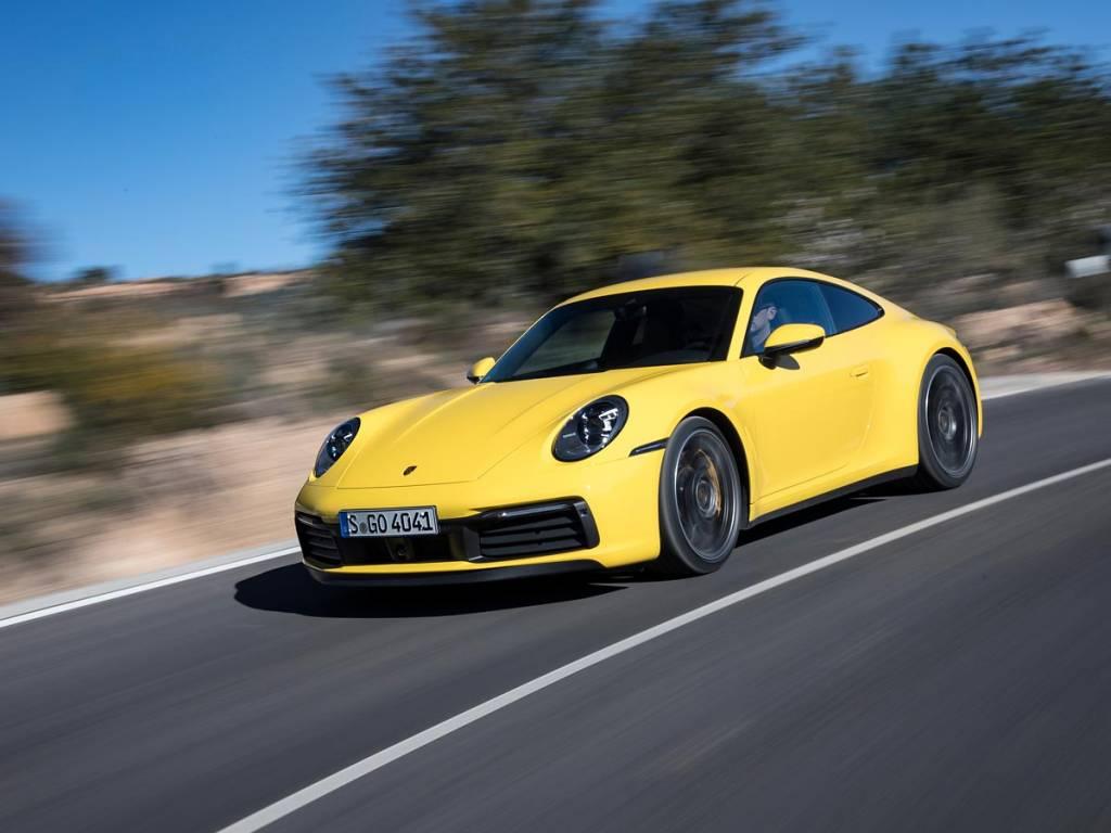 prueba Porsche 911 carretera