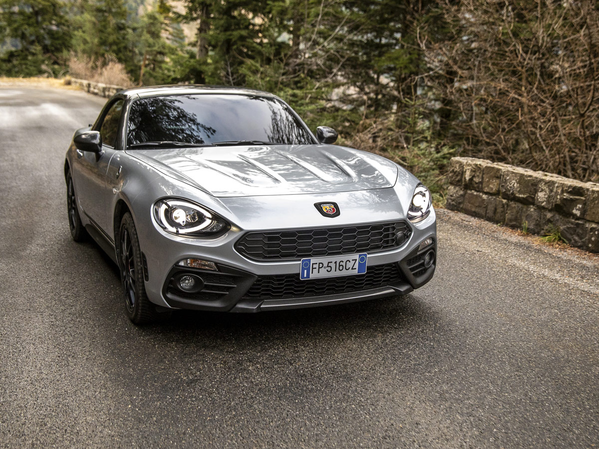 Abarth 124 Spider 70th Anniversary
