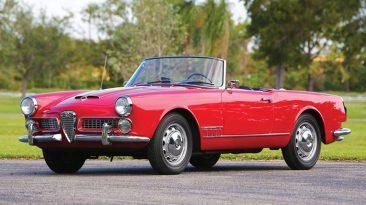 Alfa Romeo 2000 Spyder by Touring de 1959