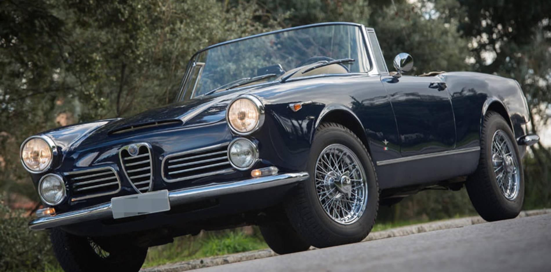 Prueba clásica del Alfa Romeo 2600 Spider, sin prisas, por favor