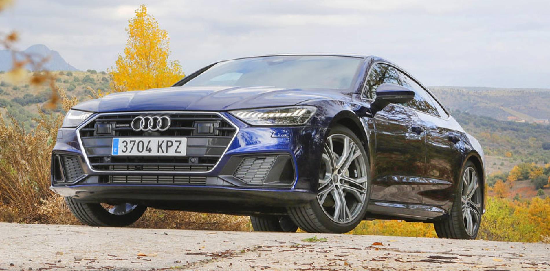 Probamos el Audi A7 Sportback, eficiencia deportiva
