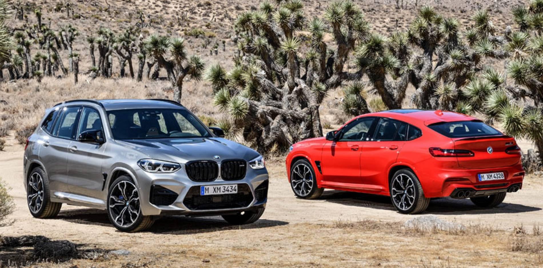 Más pimienta, el BMW X3 M y el BMW X4 M se estrenan con 480 CV (que pueden llegar a 510)