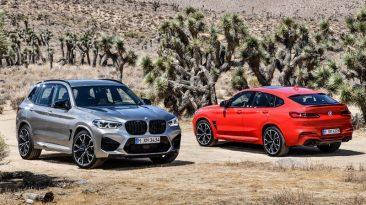 BMW X3 M y BMW X4 M
