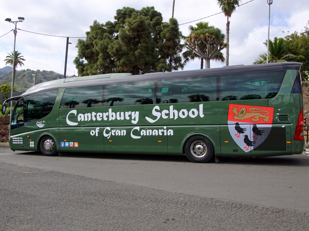Campaña transporte escolar