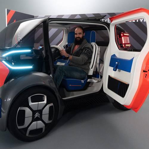 Citroën Ami One Concept, probamos el nuevo concepto de movilidad urbana de la gala