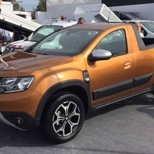 Dacia pick-up, saldrá a la venta en la segunda mitad de 2019