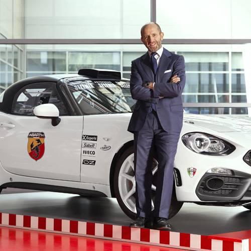 """Luca Napolitano: """"Las carreras permiten poner a prueba las tecnologías que llegarán a los coches de Abarth"""""""