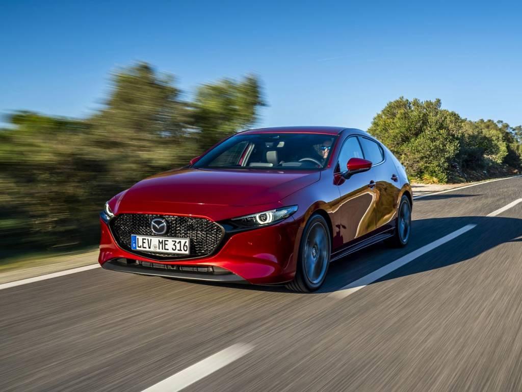 estática Mazda3 2019
